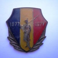 Insignă jubiliară 1877 - 1977