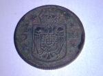 Monedă regalistă -5 lei 1930 - verso