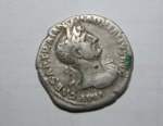 Moneda romana din argint